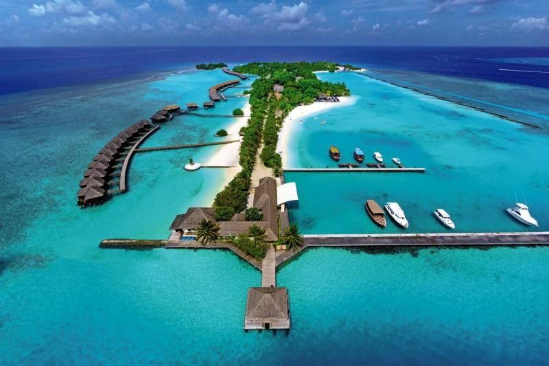 Sheraton Maldives Full Moon Resort and Spa, Maldivi 1