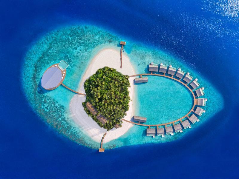 Kudadoo Maldives Private Island, Maldivi 1