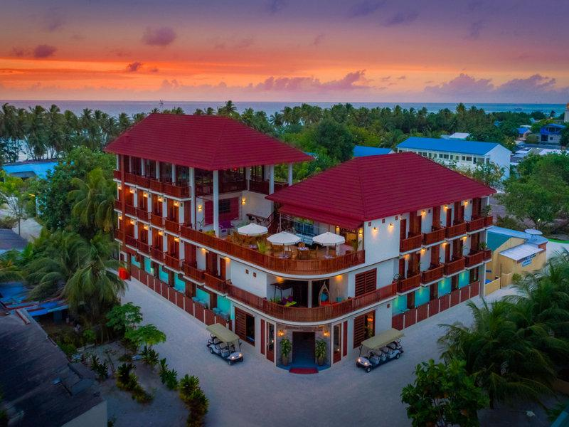 Araamu Holidays and Spa, Maldivi 1